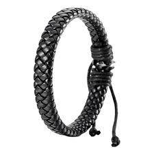 black bracelet men images Mens black bracelet ebay jpg