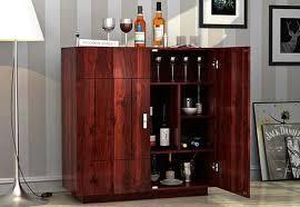 Home Bar Cabinet Designs Bar Cabinet Online Buy Wooden Bar Cabinet Online At Best Price