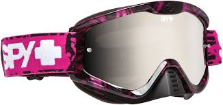 pink motocross goggles spy whip mx goggle unisex