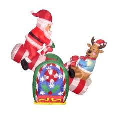 Christmas Garden Decorations Reindeer by Outdoor Christmas Decorations You U0027ll Love Wayfair