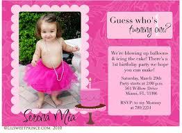 1st birthday invitation cards images invitation design ideas