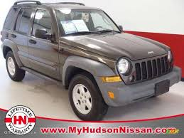 dark brown jeep 2005 dark khaki pearl jeep liberty sport 48580802 gtcarlot com