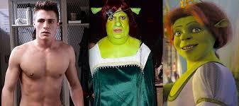 Fiona Halloween Costume Colton Haynes Won Halloween Dressing Princess Fiona