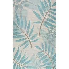 Turquoise Indoor Outdoor Rug Teal 9 X 12 Outdoor Rugs Rugs The Home Depot