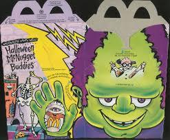 mcdonald u0027s happy meal u2013 1992 halloween mcnugget buddies