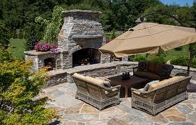 Outdoor Entertainment - outdoor entertainment area ideas connecticut stone supplies