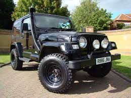 jeep yj snorkel used jeep wrangler wrangler 4 0 sahara auto for sale in leighton