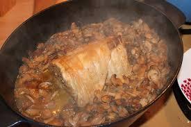 cuisine roti de porc en cocotte roti de porc aux chignons shunrize