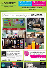 Home Decor And Design Exhibition Travels Klcc Homedec Home Decor And Design Exhibition U2013 Wnd