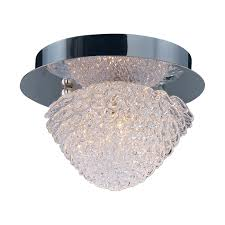 Crystal Flush Mount Lighting Et2 E23000 20pc Blossom Round Crystal Flush Mount Lighting 1
