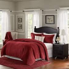 bombay taryn red velvet 4 piece quilt set on sale free