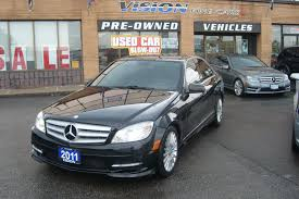 used 2011 mercedes benz c class for sale toronto on