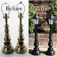 Outdoor Solar Lamp Post by Thee Kiss Of Life Upcycling Upcycled Solar Lamp Posts Diy