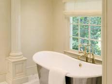 clawfoot tub bathroom ideas clawfoot tub designs pictures ideas tips from hgtv hgtv