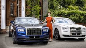 unique rolls royce ghost and wraith honor south korea 13 images
