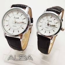 Jam Tangan Alba Pasangan jam tangan pasangan merk alba terkenal di distributor jam