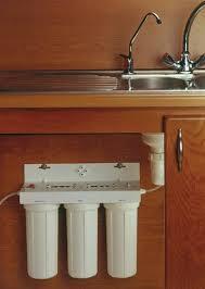 Triple Under Kitchen Sink Water Purifier - Kitchen sink water filter