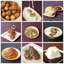 around the world on a plate cool dinner idea