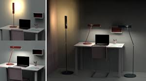 Dual Desk Home Office Dual Home Office Lighting U2014 Hollie Chan