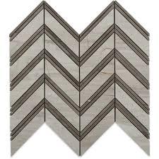 Backsplash Herringbone Tile Flooring The Home Depot - Herringbone tile backsplash