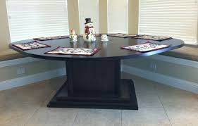 Tables With Bench Seating Hand Made Kitchen Area Table For Corner Bench Seating By North