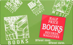 sell half price books gift cards raise
