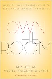 own the room discover your signature voice to master your