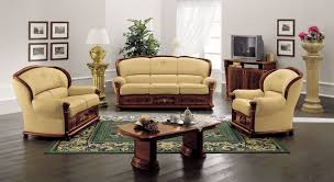 Leather Sofa Italian Klassica Classic Italian Leather Sofa Set