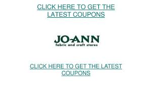 Joann Fabric Free Printable Joanns Coupons Updated Available June 2015 Youtube