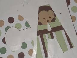 Mod Pod Pop Monkey Crib Bedding by Pop Monkey Hand Painted Custom Nursery By Trendytotsletters