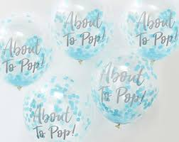 baby shower balloons baby shower balloons etsy