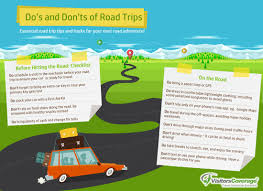 Map Your Road Trip Infographics The Do U0027s And Don U0027ts Of Road Trips