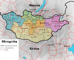 Mongolia Map Overland Is There A Land Route From China Through Mongolia To