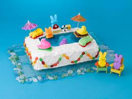 peeps decorations peeps pool cake marshmallow peeps