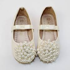 wedding shoes for girl ivory flower girl shoes ivory pearl toddler girl shoes pearl