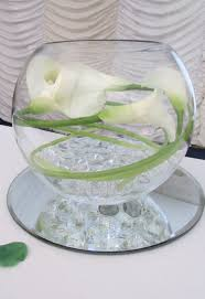 Goldfish Bowl Vase Event Decoration Www Bestwishes Uk Com Table Centrepieces