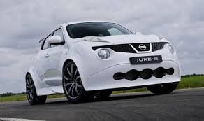 nissan juke white nissan juke r tweaks for super suv as first customer takes
