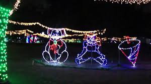 largo central park christmas lights christmas lights illumination at largo central park florida youtube