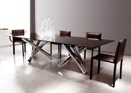 chair luxury modern glass dining table tedxumkc decoration modular