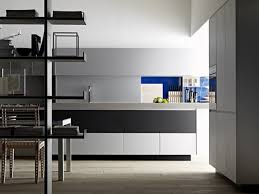 kitchen kitchen with modern design and minimalist style equipped
