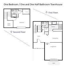 Bathroom Floor Plans Fascinating One Bedroom Apartments Floor Plans Also Apartment
