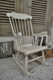 Garden Rocking Chair Uk This Shabby Chic Pine Rocking Chair Painted In Farrow