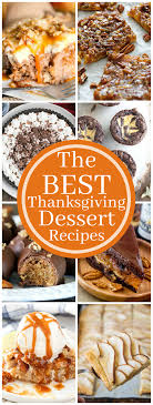 the best thanksgiving dessert recipes the chunky chef