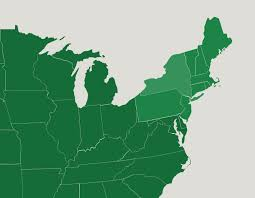 northeast map of us the u s states in the northeast map quiz