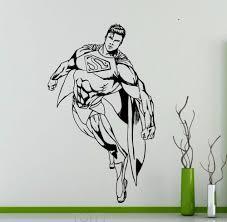 online get cheap dorm room decor men aliexpress com alibaba group superhero man wall vinyl decal creative comics superhero removable sticker dorm club home teen room interior