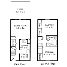 two apartment floor plans river oaks apartments floor plans