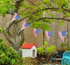 Mini Garden Flags Happy Fourth Of July In The Miniature Garden The Mini Garden