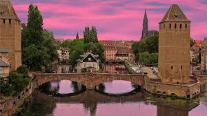 other sunset alsace france franciya reka sky sunsets bridges