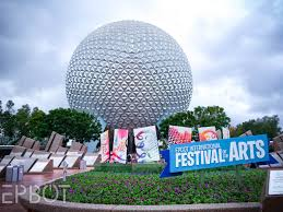 Map Of Epcot World Showcase Epbot Epcot U0027s New Festival Of The Arts Is A Figment Love Fest