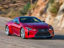 lexus sports car blue 2018 lexus lc 500 quick take kelley blue book